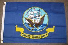 U.S. NAVY FLAG 2X3 FEET ARMED FORCES MILITARY USN 2'X3' F704