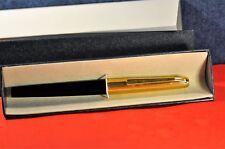 """Pelikan""  M 30 BLACK/GT Rolled Gold  Piston Filler German 1965's Fountain pen"