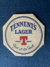 More details for super tennent's lager pre-war beer mat