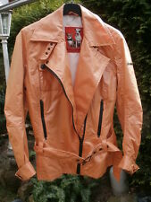 FRIEDA & FREDDIES NEW YORK Jacke orange Gr 36 38 neuwertig