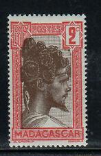 MALAGASY #148  1930  2c SAKALAVA CHIEF      MINT F-VF NH  O.G