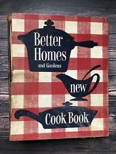 Vintage Better Homes and Gardens New Cookbook 1953 1st Edition 1st Print 1950's