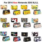 Super mario pokemon xy pikachu zelda Hard Case Cover For NEW Nintendo 3DS XL