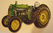 John Deere Tractor Madera Imán Nevera Hecho en RU FSC APROBADO Grande 13 x 8cm