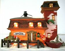 "Dept 56 ""Cape Keag Fish Cannery"" ~ (1994) ~ * New England Village *"