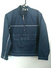 Women's Size Small Anchor Blue Active Dark/Navy Blue Light, Thin 1/2 Zip Jacket