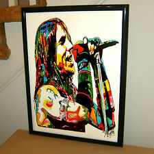 Anthony Kiedis Red Hot Chili Peppers Funk Rock Music Poster Print Wall Art 18x24