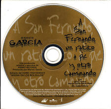 CD SINGLE promo MANOLO GARCIA A San Fernando ULTIMO DE LA FILA 1998 SPAIN MINT