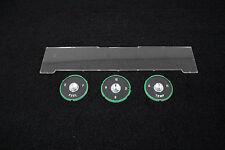 US-Made 1961-62 Impala BelAir Biscayne Instrument Lens 4 Piece Set New TrimParts