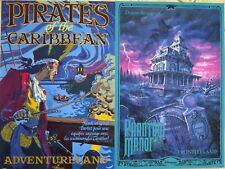 2 Disneyland Paris Official Attraction Posters Phantom Manor Pirates 12 x 18""