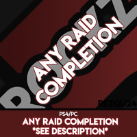 Any Raid Completion - PC/PS4 DSC Added