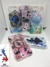 Disney Soft TPU Alice Ariel Mermaid Cat Phone Case Cover iPhone 5 6 7 Plus