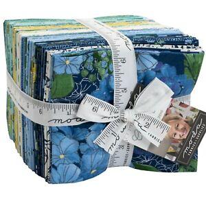 Cottage Bleu 38 Fat Quarter Bundle by Robin Pickens for Moda Fabrics