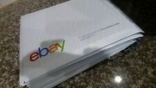 "eBay Branded Airjacket Size #0 Envelopes 6.5"" x 8.75""  Pack of 10"