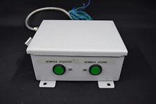 Flow Switch Enclosure w/ Input Output Power Button Indicators