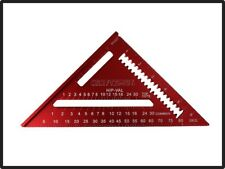 Craftsman Red Rafter Square High Visibility Scale 7 Inch Standard SAE Aluminum