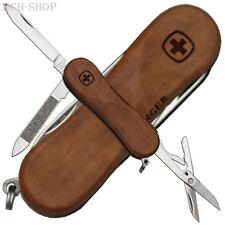 Wenger Schweizer Mini Taschenmesser 3tlg. EvoWood81 Nagelpflege Nussbaum Schalen