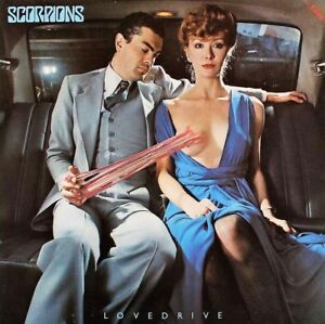 Scorpions Lovedrive ALBUM COVER POSTER 24 X 24 Inches