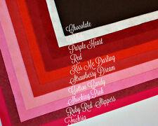 "Wow Sweethearts Felt Collection Merino Wool Blend Felt, Ten 9"" X 12"" Sheets"