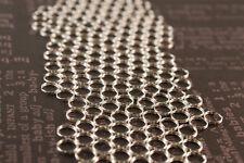 100 Spaltringe, 6 mm, Ösen, Farbe silber, Perlen basteln, Schmuck machen