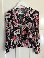 Sussan Floral Bomber Jacket. Size 8