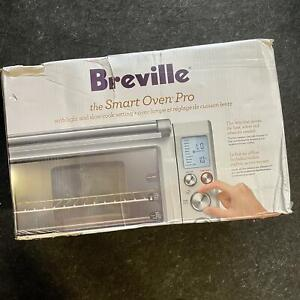 Breville BOV845 The Smart Pro Toaster Oven, Stainless Steel