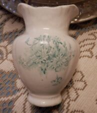 ANTIQUE CORNELL CHINA VICTORIAN BOWL AND PITCHER SET FLOWER OR TOOTHBRUSH HOLDER