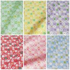 Crafts Polycotton Fat Quarter Floral Fabric