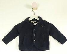 ARMANI Baby Cardigan Maglia Giacca Battesimo Blu Tg. 6m 62 (hg297)
