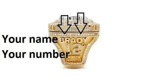 CUSTOM RING 2020-2021 Tampa Bay Buccaneers Super Bowl World Championship Ring LV
