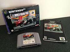 F-1 World Grand Prix 2-Nintendo 64 N64 En Caja