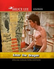 BRUCE LEE ENTER THE DRAGON AND GAME OF DEATH SCRAPBOOKS PLUS 2 FREE PRINTS