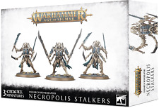 WARHAMMER AGE OF SIGMAR - OSSIARCH BONEREAPERS NECROPOLIS STALKERS