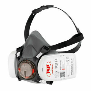 JSP Force 8 (Medium) Protective Safety Mask P3 PressToCheck filters included