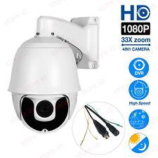 33X Zoom 2MP 1080P HD-AHD/TVI/CVBS 7'' CCTV High Speed PTZ Dome Camera Laser