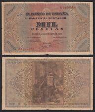 España - Spain 1000 Pesetas  20-5-1938  Pick 115  BC/BC+ = F/F+
