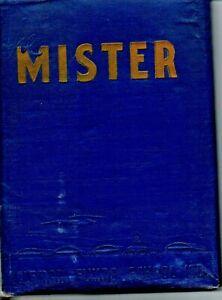 Coleman Flying School Ltd. Yearbook 44-D The Mister 1944 Coleman TX WWII