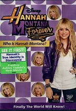 BRAND NEW DVD // DISNEY // HANNAH MONTANA // FOREVER // WHO IS HANNAH ?