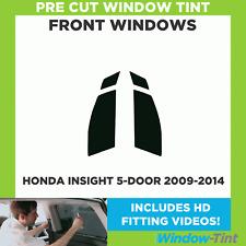 Pre Cut Window Tint - Honda Insight 5-door Hatchback 2009-2014 - Front Windows