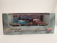 Hot Wheels 40th Anniversary of the 2-Seat Thunderbird 1957-1997 1/64 Scale Set