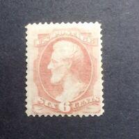 .scott #159 6c F/VF Catalogue Value $375 MLH OG