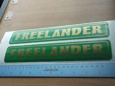 Land Rover Freelander Vinyl Decal sticker