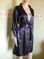Lingerie femme  nuisette + peignoir en satin taille 42 XL