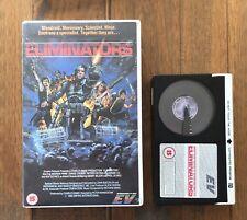 The Eliminators Betamax Pre Cert UK PAL EV Video Big Box Ex Rental Beta