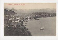 Bregenz a Bodensee Und Die Alpen Postcard Austria 629a