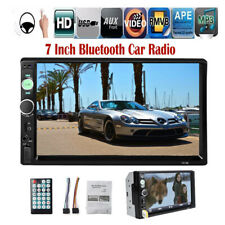 7'' 2 DIN Touch Screen Car Radio Mirror Link FM/AUX/USB/TF Stereo MP5 Bluetooth