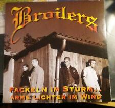 Broilers - Fackeln im Sturm 1997 Schwarzes Vinyl LP Schallplatte Aufl. 800 Stück