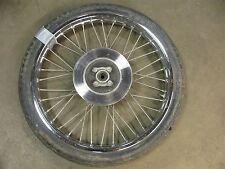 """1982 yamaha rx 50 special ysr y374~ front wheel rim w disc brake 19"""""""