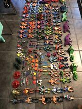 He Man MOTU Lot Figures Weapons Vehicles Vintage Toys