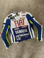 Yamaha Professional Authentic Leather Racing Motorcycle Jacket M